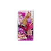 Boneca Barbie Cabelos Longos - Cabelo Muda De Cor Com Água - Mattel