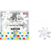 Rolling Hills Professional Hair Rings Nano White Haargummi