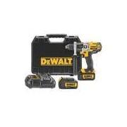 Furadeira Parafusadeira 1/2 À Bateria De 20 Volts Com 2 Baterias - Dcd985l2-br Dewalt