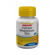 Calciu + magneziu + zinc, 100 + 30 tablete (promotie)