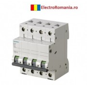 5SL6640-7 Siguranta automata trifazata Siemens 40 A , 3P+N