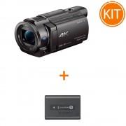 Kit Sony Handycam FDR-AX33 + Sony Acumulator original NP-FV70A