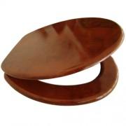 Sedile copri WC/Copriwater in MDF legno scuro