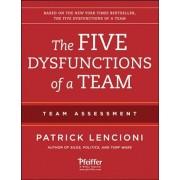 The Five Dysfunctions of a Team: Team Assessment, Paperback/Patrick M. Lencioni