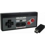 Controller NES pentru Nintendo Classic Mini wireless 2.4 G Negru
