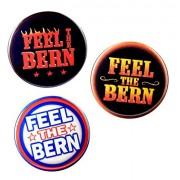 Bernie Sanders Feel The Bern Variety Pack pinback buttons