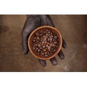 Cafea boabe de origine India Plantation A 200g