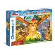 Clementoni - puzzle 104 maxi pezzi - lion guard