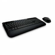 Kit tastatura + mouse Microsoft Wireless Desktop Media 2000 negru