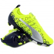 Puma evopower vigor 2 graphic fg yellow - Scarpe da calcio