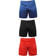 Mj Store Present Polyster Dry-Fit Men's Lounge Beach Bermuda Casual Sports Night wear Cycling Short rd-blu-bl
