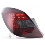 FK-Automotive fanali posteriori LED Opel Corsa D 5 porte anno di costr. 06-10, rosso/nero