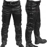 pantaloni pelle uomini MOTOR - MOT003