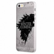 Husa Silicon Transparent Slim Winter Is Coming Apple iPhone 5 5S SE
