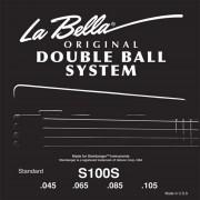 La Bella Cuerdas para Bajo 45-105 Double Ball Steinberger Headless 4cuerdas