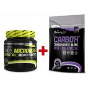 BioTech USA 100% Creatine Monohydrate 300g + CarboX™ 500g