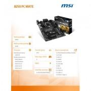 MSI B250 PC MATE s1151 B250 4DDR4 2M.2/8USB3.1 ATX - DARMOWA DOSTAWA!!!