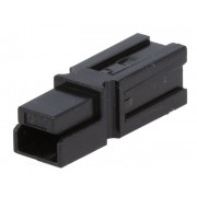 CONECTOR AMP POWER SERIES 1 PIN NEGRO 600V 40A