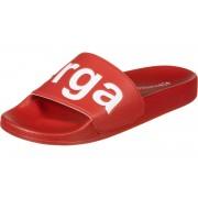 Superga Slides Damen Badeschuhe rot Gr. 35,0