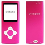 Evodigitals (Pink, 16GB) 16GB Evo Elite MP3 Music Video Player With FM +