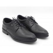 Pantofi barbati, DR JELL S, model 6291-156, piele naturala, negru
