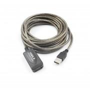 Cable De Extensión USB 2.0 Tarjeta De Red Inalámbrica Ampliada Con Chip De La Línea De Cable Negro Y Gris