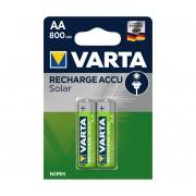 Varta 56736 - 2 buc Baterii reîncărcabile SOLAR ACCU AA NiMH/800mAh/1,2V