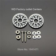 Generic Green : MINI 4WD Light Strong Aluminum 19mm Rollers Self-made Parts Tamiya MINI 4WD 19mm Colored Aluminum Guide -Wheel D027 2Sets/lot