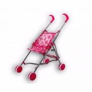 Geen Poppen buggy met roze beertjes - Action products