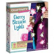 CRAFTIVITY Cherry Blossom Lights Craft Kit - Light Up Room Decor for Teen Girls