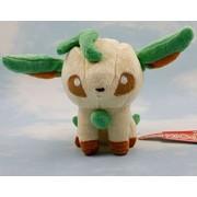 """Leafeon Leafia Eevee Pokemon 6"""" Anime Animal Stuffed Plush Plushies Doll Toys"""