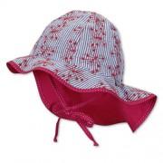 SOMMER Mini Mädchen Hut mit Nackenschutz Mütze STERNTALER 1411416