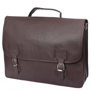 P & Y Fashion 100% SYNTHATIC LEATHER 12 inch Laptop Messenger Bag