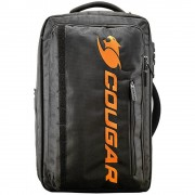 """Backpack, COUGAR FORTRESS 15.6"""", Shockproof anti-vibration structure, Black (CG3MGB1NXB0001)"""