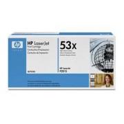 HP 53X Black Toner (7000 stran) pro LJ P2015, Q7553X - originální