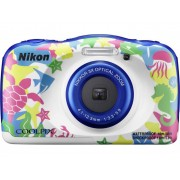 Nikon W-100 Digitale camera 13.2 Mpix Marine Full-HD video-opname, Onderwatercamera, Schokbestendig, WiFi