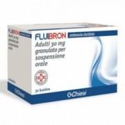 Chiesi Fluibron Adulti Granulato - per affezioni respiratorie acute 30 bustine 30 mg