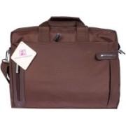 Fashion Knockout 15 inch Laptop Messenger Bag(Brown)