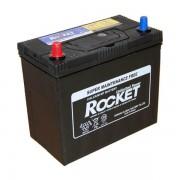 Rocket 45Ah 12V autó akkumulátor SMF NX100-S6 ASIA vékonysaru bal+