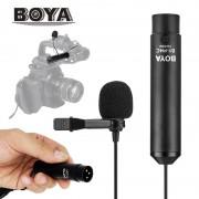 Lavaliera Microfon BOYA BY-M4C Profesionala cu XLR