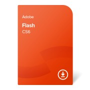 Adobe Flash Professional CS6 ENG ESD (ADB-FLASH-CS6-EN) електронен сертификат