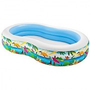 Intex Swim Center Paradise Seaside Pool Multi Color