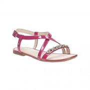 Clarks Women's Sail Breeze Patent Pink Leather Fashion Sandals - 6 UK/India (39.5 EU)
