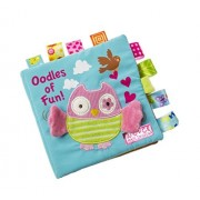 Best Funny Book Baby Toys Cloth Books Learning Education Unfolding Activity Books Animal Style (Owl)