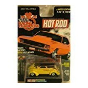 RACING CHAMPIONS HOT ROD MAGAZINE DRAG RACING SERIES ISSUE #124 YELLOW BOXOTICA DIE-CAST