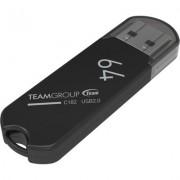 Флаш памет Team Group C182 64GB Черен