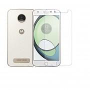 Mica Cristal Templado Para Motorola Xt1631 Moto Z Play Glass 9H - Transparente