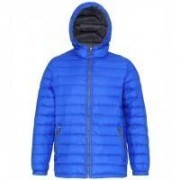 Men's Padded Jacket Royal/Grey