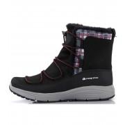 ALPINE PRO DARLEEN Dámská zimní obuv LBTK145990 černá 37