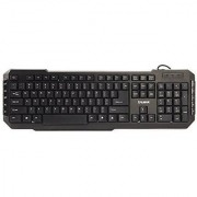 Zalman 114 Keys Multimedia Ergonomic Laser Carved USB Keyboard (ZM-K200M)